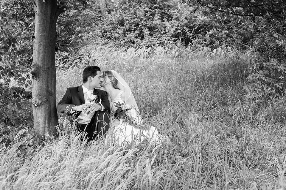 Hochzeit in Viernheim, 2015, schwarz weiß