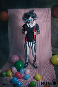 Horrorclown, Gruselclown, gruselig, clown