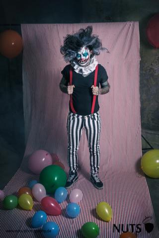 Horrorclown, Gruselclown, gruselig, clown