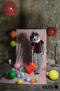 Horrorclown, Gruselclown, gruselig, clown, zirkus, creepy