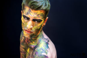 Colorful, Mann, Male, Shooting, Mannheim, Studio, Bunt, Farbe