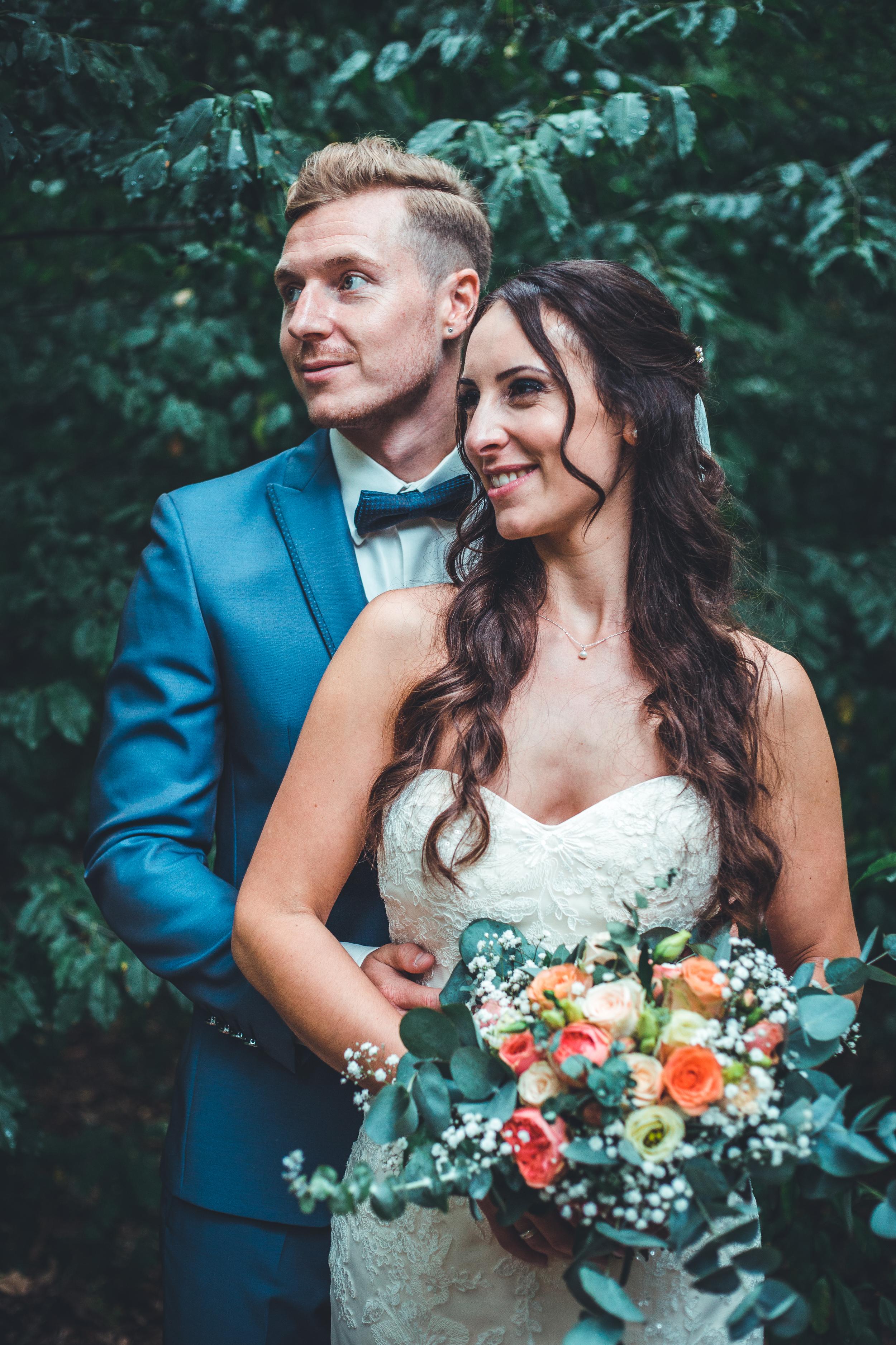 Hochzeit in Mannheim mit Daniela und Sven, Fotoshooting, Brautpaarshooting
