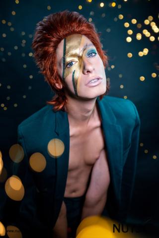 David Bowie, Studioshooting in Mannheim, Steven Schauer
