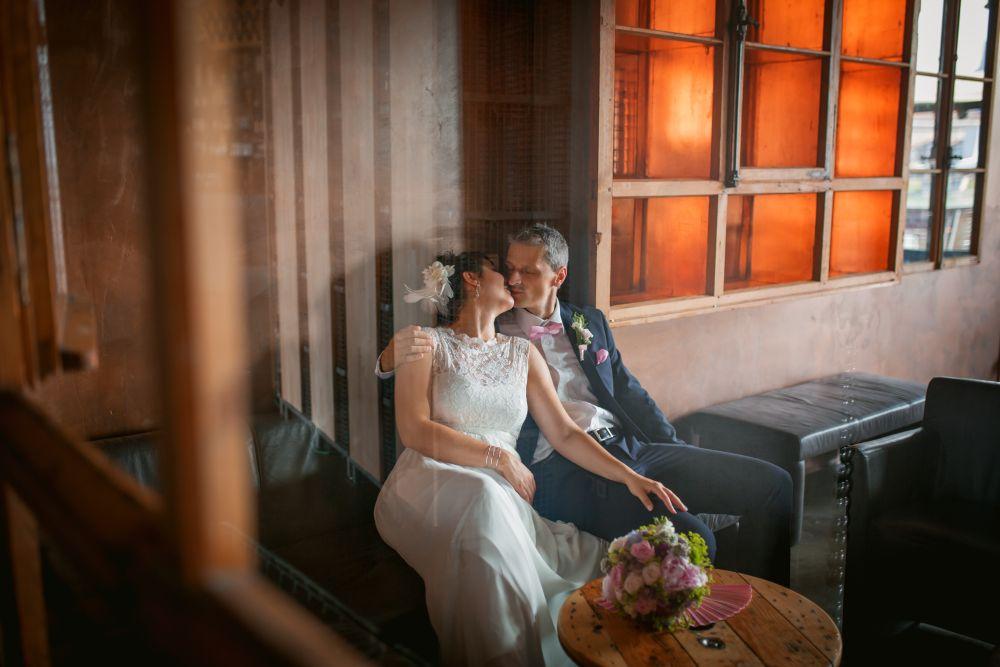 2017, Hochzeit Anne Jörg Brautpaarshooting, Mannheim Bootshaus