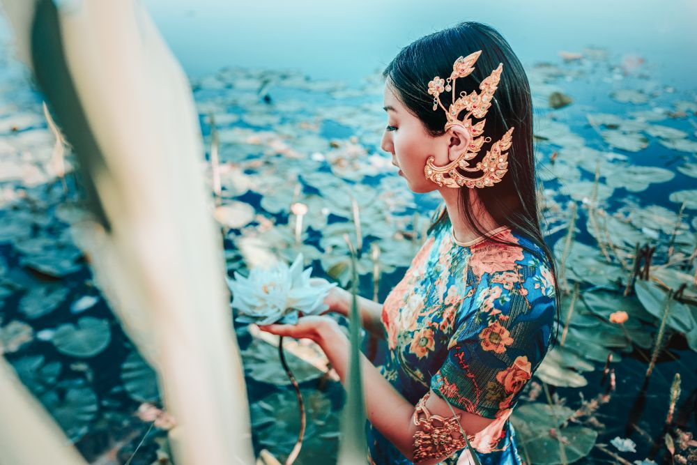 2020, Kuan Yin, GODDESSES Göttinnen