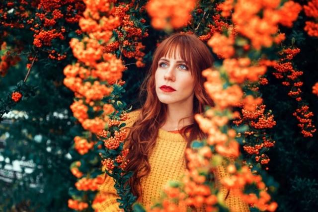 2020, Laura Herbst Blumen, Laub & Blätter